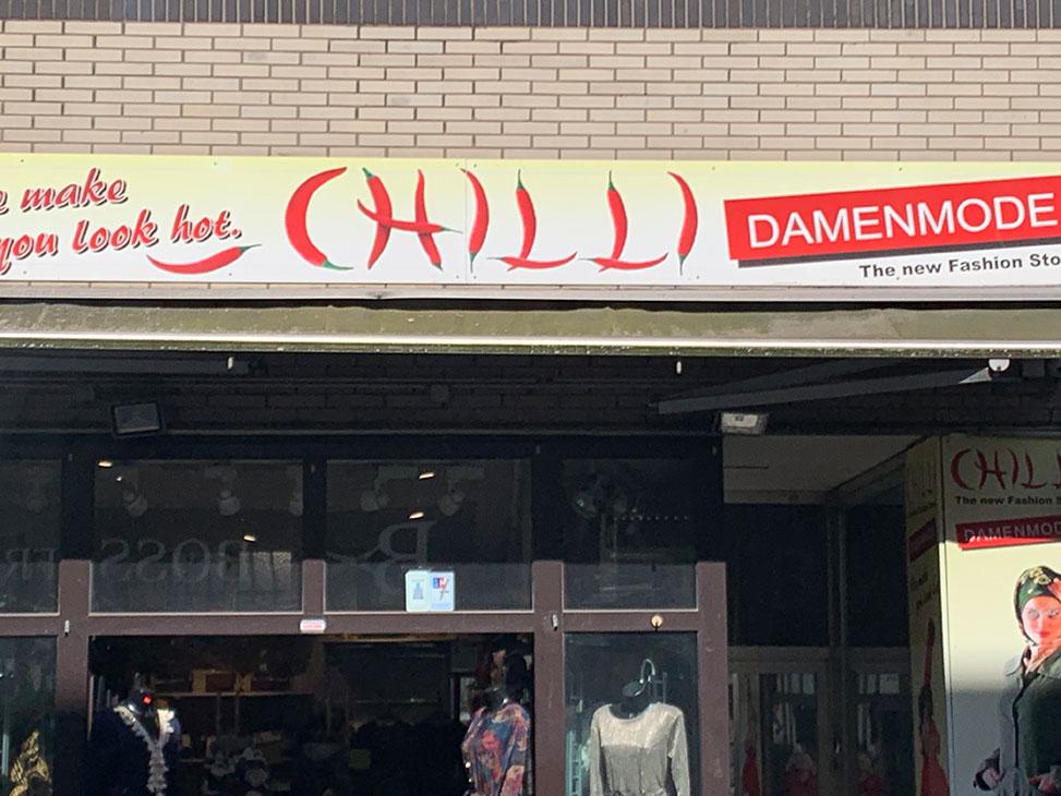 auf dem typografietrip - chilli