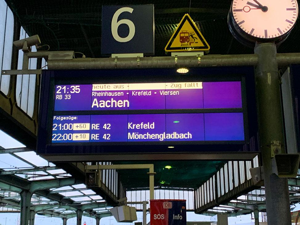 verspätungen ausfall deutsche bahn