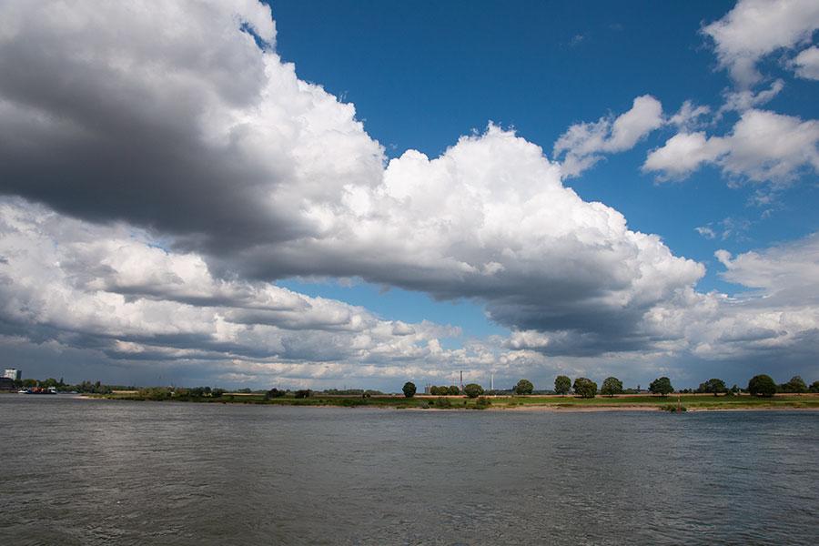 Wundersame Wolkenformation